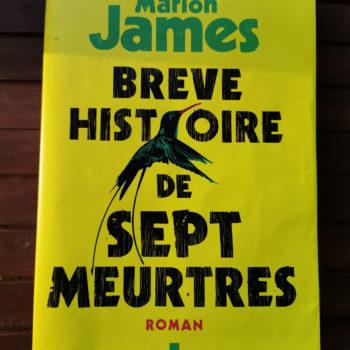 Marlon JAMES – Auteur Jamaïcain